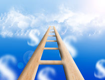 Ladder sky Royalty Free Stock Photos