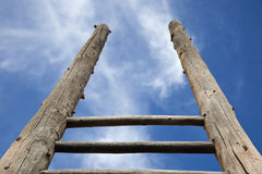 Ladder and the sky Stock Photography