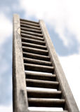 Ladder on sky Royalty Free Stock Photography