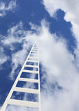 Ladder in the sky Royalty Free Stock Photos