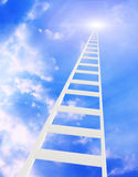 Ladder in the sky Stock Photography