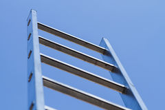 Ladder and sky Stock Images
