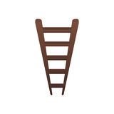 Ladder or staircase symbol. Icon  illustration graphic design Stock Image