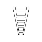 Ladder or staircase symbol Royalty Free Stock Photography