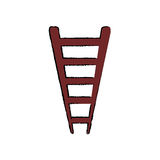 Ladder or staircase symbol. Icon  illustration graphic design Stock Photo