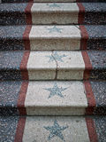 Ladder with stars Stock Photography