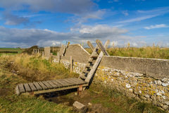 Ladder Stile, South Wales Royalty Free Stock Photography