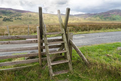 Ladder Stile style, North Wales Stock Images