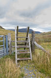 Ladder Stile style, North Wales Stock Image