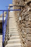 Ladder - structureel element van het gebouw stock fotografie