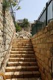 Ladder - structureel element van het gebouw royalty-vrije stock foto