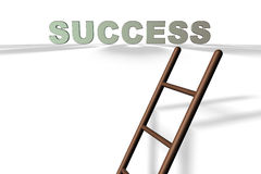 The Ladder of Success Royalty Free Stock Image