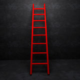 Ladder of Success  on background texture Stock Photos