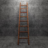 Ladder of Success  on background texture Royalty Free Stock Photos