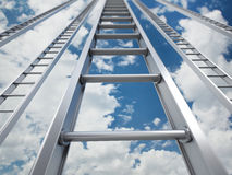 Ladder of success Stock Images