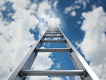 Ladder of success Stock Image
