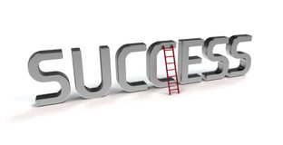 Ladder of success Royalty Free Stock Image