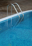 Ladder of a swimming pool Royalty Free Stock Photos