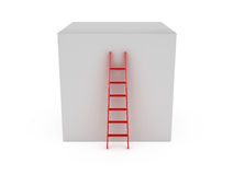 Ladder to Climb Box Royalty Free Stock Photos