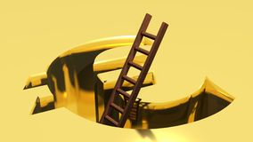 A ladder to come out from Euro Stock Photo
