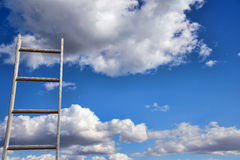 Ladder to heaven Royalty Free Stock Photos