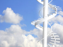Ladder to paradise Stock Image