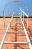Ladder to the roof Royalty Free Stock Photo