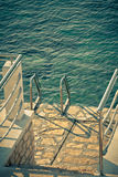 Ladder to the Sea Royalty Free Stock Photo