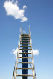 Ladder to the sky Royalty Free Stock Images