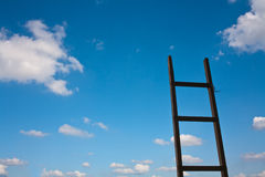 Ladder to the sky Royalty Free Stock Photos