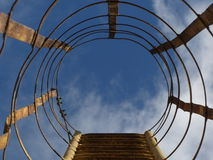 Ladder to the sky. The ladder to the sky Royalty Free Stock Photos