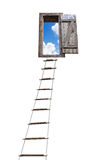 Ladder to sky Royalty Free Stock Photos