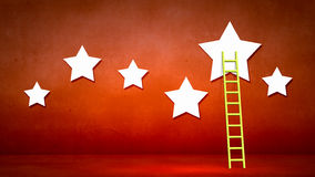 Ladder to stars Royalty Free Stock Photography
