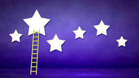 Ladder to stars Royalty Free Stock Photo