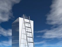 Ladder to success Royalty Free Stock Images