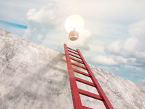 Ladder to success royalty free illustration