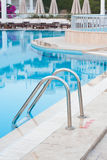 Ladder to Swimming Pool Stock Images