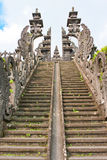 Ladder to a temple. Bali. Indonesia Stock Photography