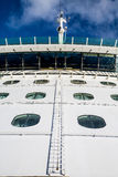 Ladder up Bulkhead of Cruise Ship Royalty Free Stock Image