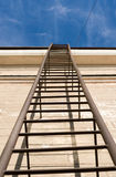 Ladder up to the sky Stock Image