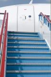 Ladder van het vliegtuig royalty-vrije stock foto's