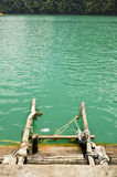 Ladder into the water Royalty Free Stock Photography