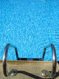 Ladder water-pool. Ladder to fresh water-pool photo stock images