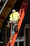 Ladder Work Stock Photo