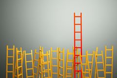 Ladders Royalty Free Stock Photos