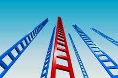 Ladders aan de Hemel Stock Fotografie