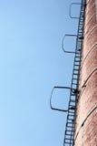 Ladders, blauwe hemel Royalty-vrije Illustratie
