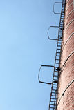 Ladders, blue sky Royalty Free Stock Images