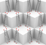 The ladders Royalty Free Stock Photography