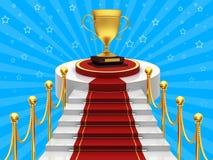Ladders met gouden kop Royalty-vrije Stock Fotografie